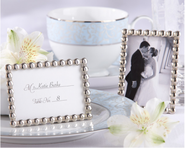 "WPF2005 ""Silver Pearls"" Mini Photo Frame - As Low As RM5.30 /Pc"