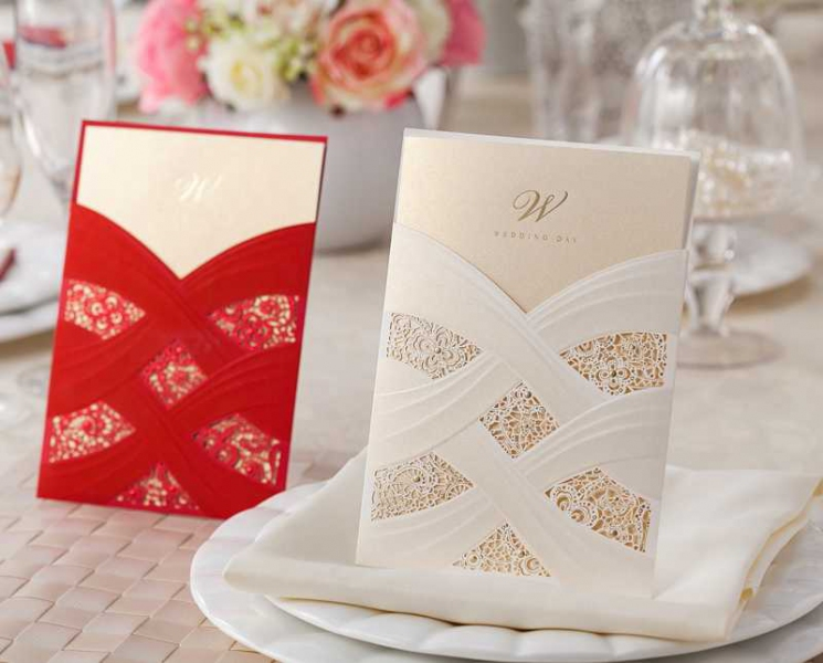 BWI060 Bhands Korea Invitation Cards - As Low As RM4.10/Pc
