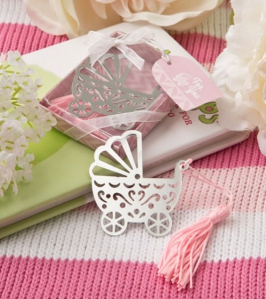 WBM2040-1 Baby Carriage Bookmark