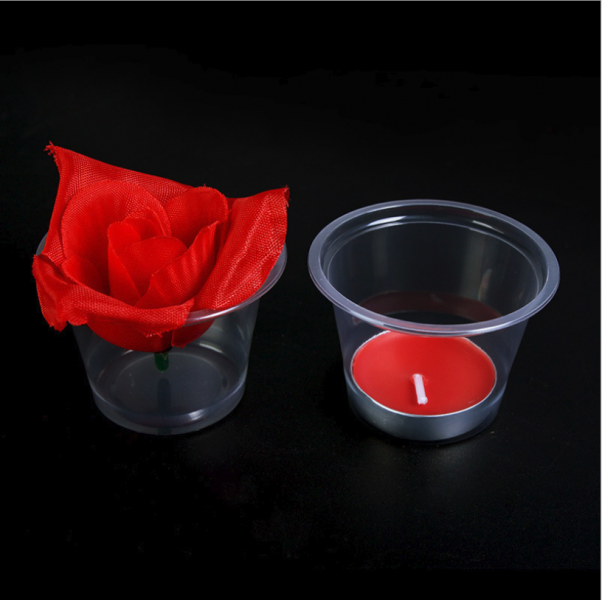 WPCFG-5 Disposable Plastic cup for Wedding, Proposal, Valentines Decoration (preventwind) (50pcs/pkt)