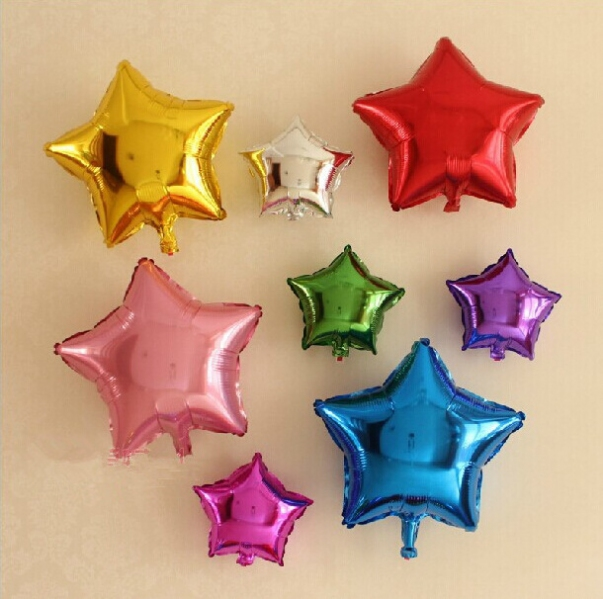 PBAL1003 Sparkle Star Balloon (8 colors) (10 / 18 inches)- As Low As