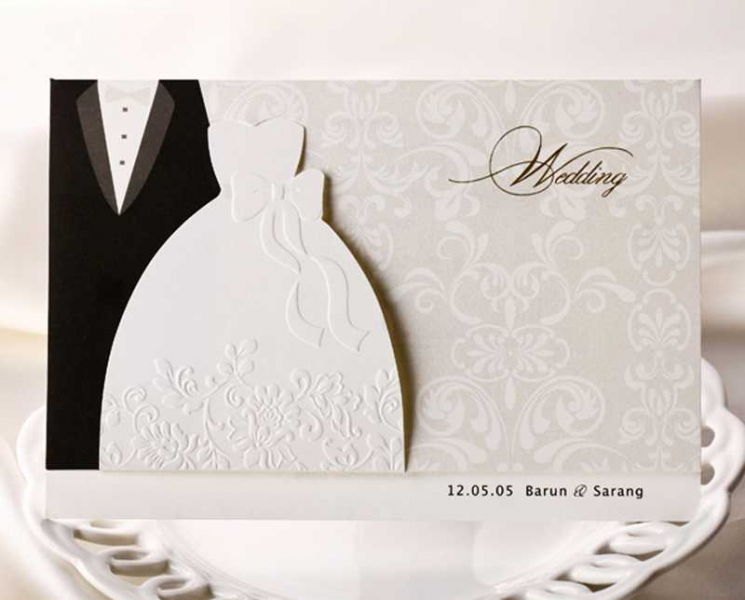 BWI2046 Bhands Korea Invitation Cards - As Low As RM2.66/Pc
