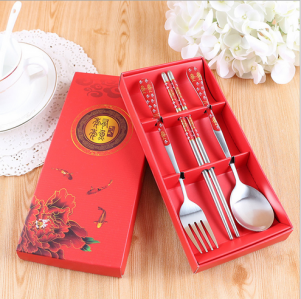 WFS2034 Red Korean & Chinese Dinning Set - As Low As RM 3.50 / Set