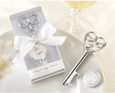 "WBO2008 ""Simply Elegant"" White Bottle Opener  - As Low As RM3.20/Pc"
