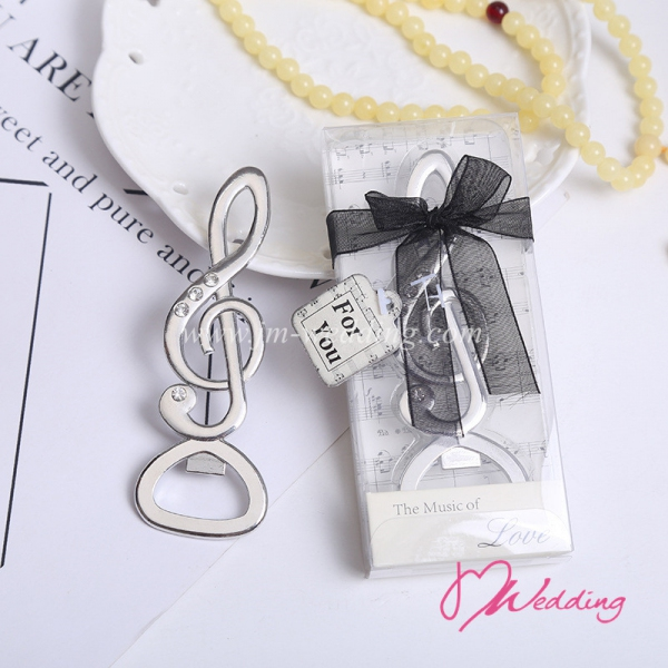WBO2045 Musical Note Bottle Opener Favors - As Low As RM4.00/Pc