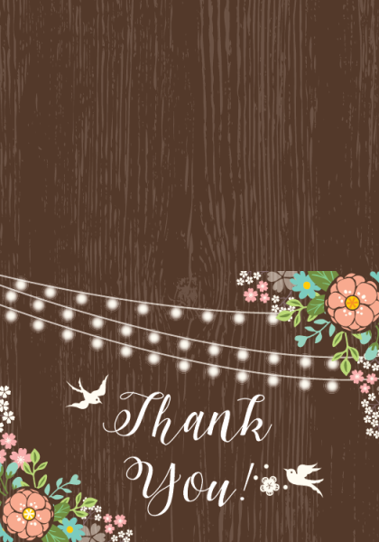STY3004 Personalize Thank You Cards