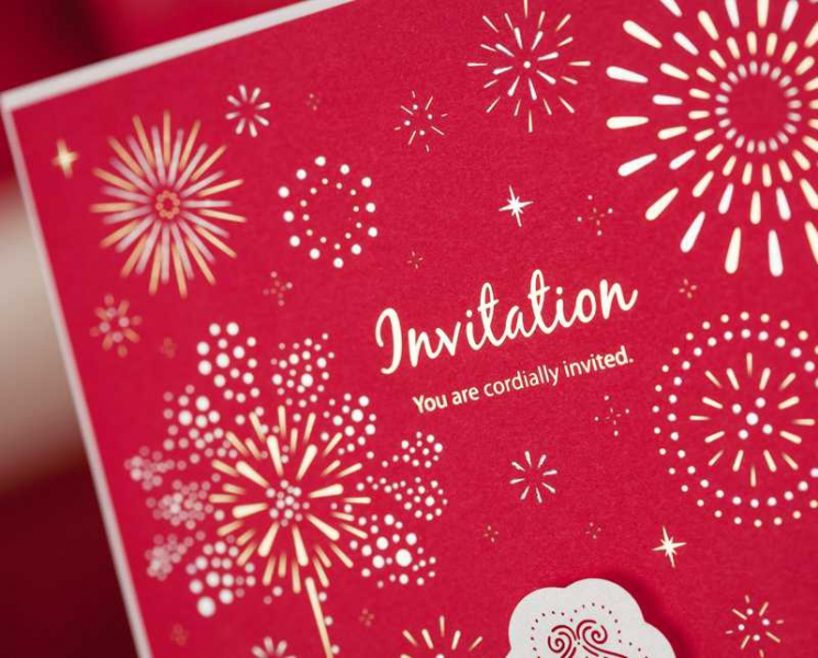 BWI005 Bhands Korea Invitation Cards - As Low As RM3.99/Pc
