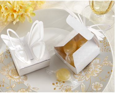 "WPB2039 ""SWEET BUTTERFLY"" 3-D BUTTERFLY FAVOR BOX  - As Low As RM 1.00 / Pc"