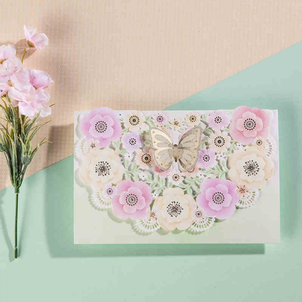 BWI6013 Bhands Korea Invitation Cards - As Low As RM4.80/Pc