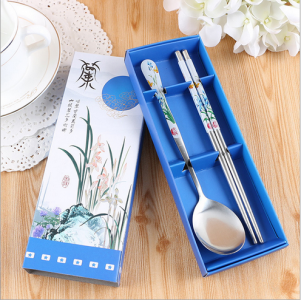 WFS2026 Blue Spoon And Chopstick - As Low As RM2.50 / Pc