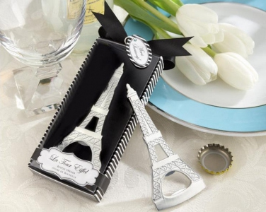 WBO2007 La Tour Eiffel Tower Chrome Bottle Opener - As Low As RM3.40/Pc