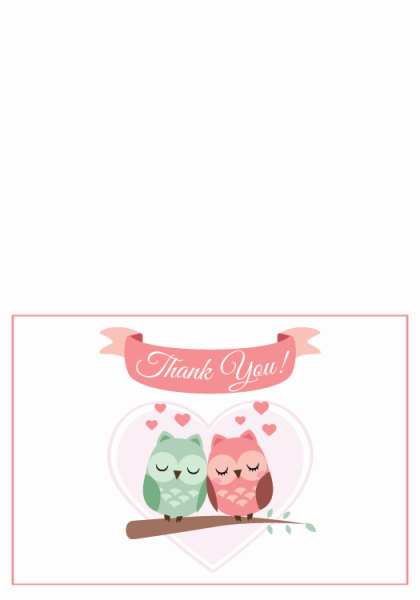 STY3007 Personalize Thank You Cards