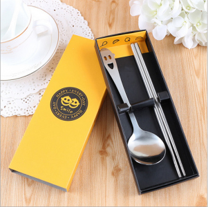 PFS2005 Yellow Smile Always Party Spoon Set Favors - As Low As RM 2.50/pc