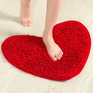 WCT1004 Red Heart Shape Carpet