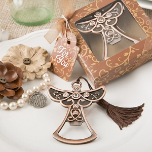 WBO2040 Antique Copper Angel Bottle Opener - As Low As RM4.00/Pc
