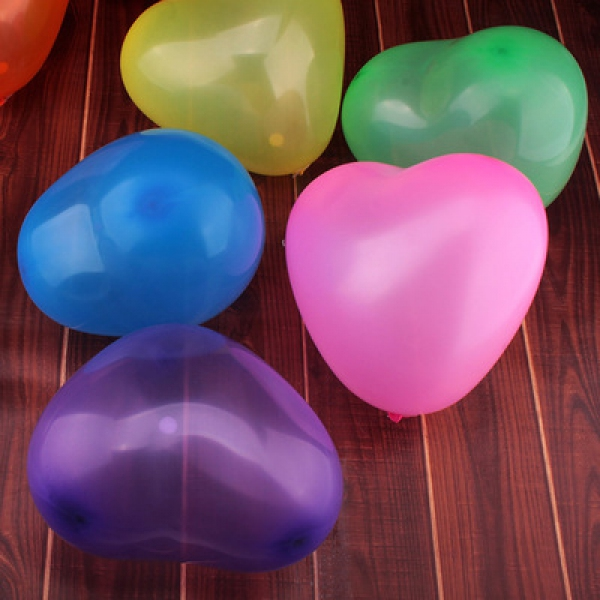 WBL1005  Normal Heart Balloon 25cm - as low as RM 0.30