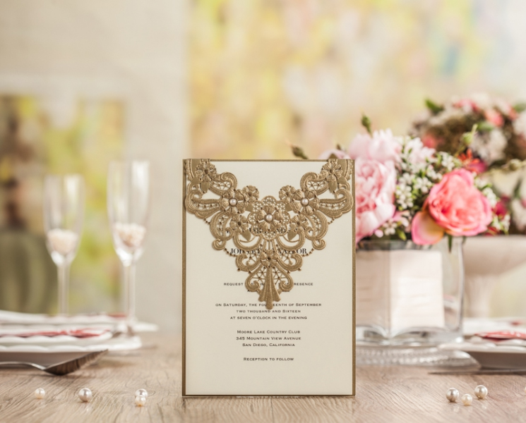 BWI5239 Bhands Korea Invitation Cards - As Low As RM4.50/Pc