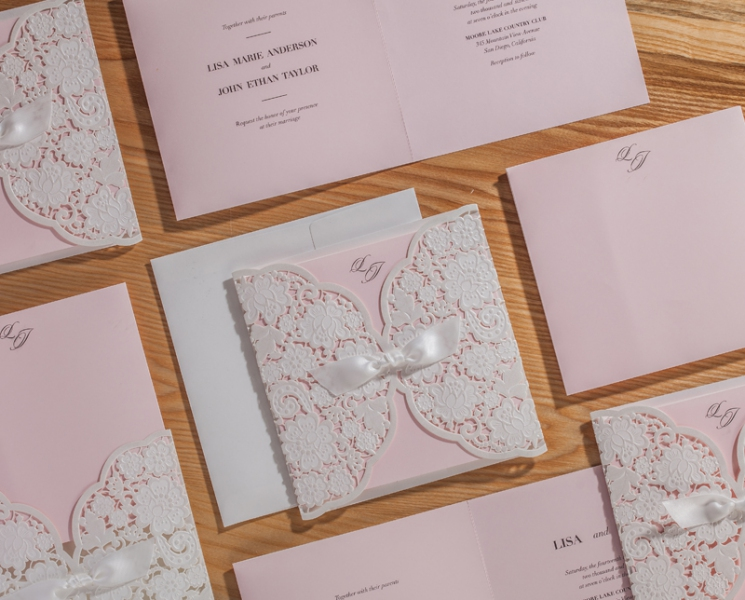 BWI5196 Bhands Korea Invitation Cards - As Low As RM5.15/Pc