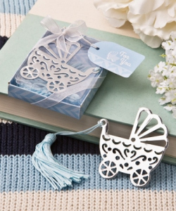WBM2040-2 Baby Carriage Bookmark