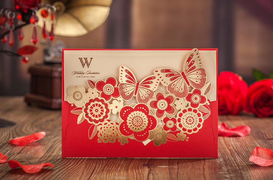 BWI6205 Bhands Korea Invitation Cards - As Low As RM2.38/Pc