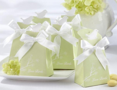 WPB2047 Love Bird Wedding Favour Box - As low as RM0.55/ pc