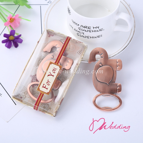 WBO2055 Cute Golden Elephant Bottle Opener  As low as RM4.70/Pc
