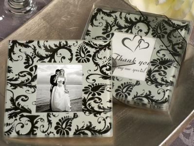 WCOA2071 A Classic Damask Design Photo Coaster (2Pcs) - As low as RM2.99 / Set