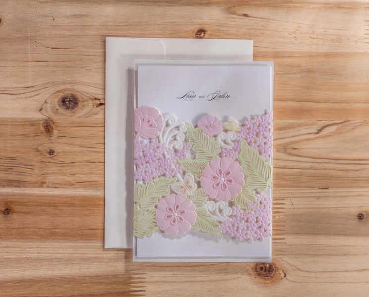 BWI5178 Bhands Korea Invitation Cards - As Low As RM4.10/Pc