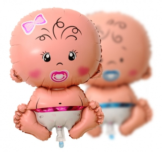 CBAL1021 Cutest Baby Balloon (Pink / Blue)  40cm - As Low As