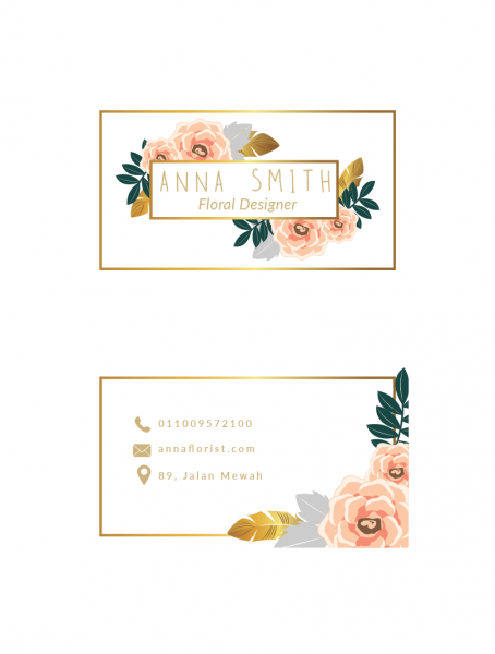 SBC3005 Personalize Business Cards