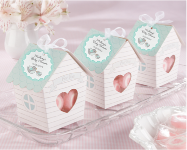 "WPB2043 Home Tweet Home"" Bird House Favor Box - As low as RM0.85/ pc"