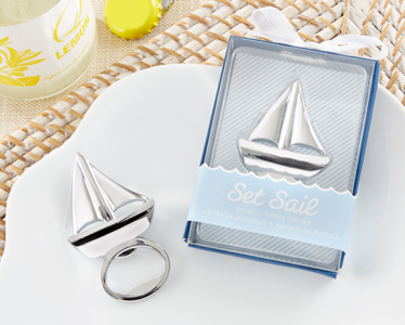 "WBO2016 ""Set Sail"" Sailboat Bottle Opener - As Low As RM3.20/pc"