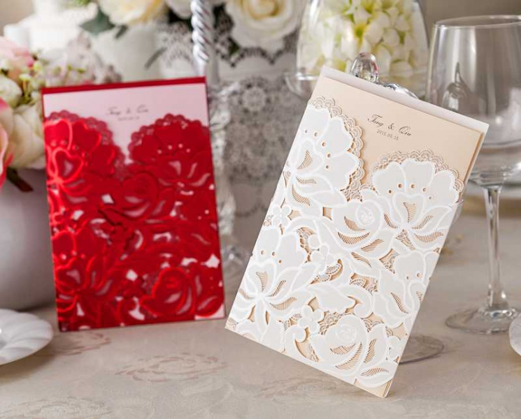 BWI066 Bhands Korea Invitation Cards - As Low As RM3.99/Pc