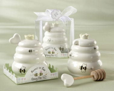 "WKD2016 ""Meant To Bee"" Ceramic Honey Pot  - As Low As RM5.40/Pc"