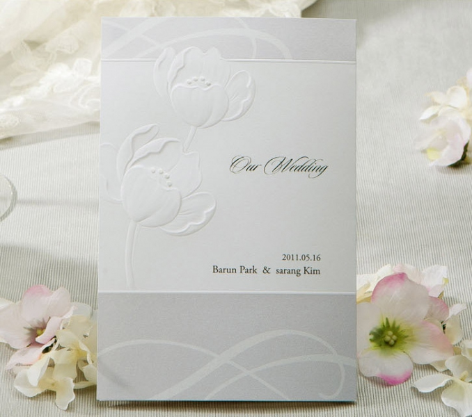 BWI1129 Bhands Korea Invitation Cards - As Low As RM2.66/Pc