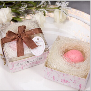 "WSS2012-2  ""The Nest Egg"" Pink Baby Soap Favor - As Low As RM1.80 /Pc"