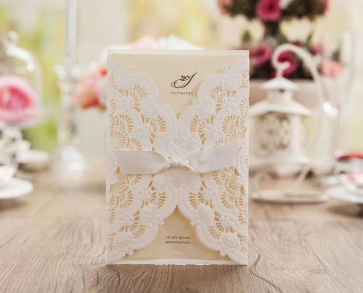 BWI5111 Bhands Korea Invitation Cards - As Low As RM4.50/Pc