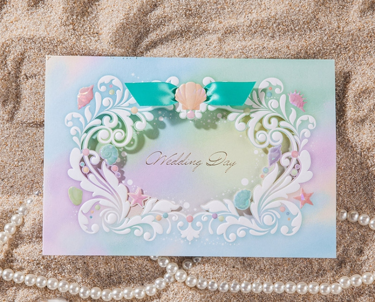 BWI6092  Bhands Korea Invitation Cards - As Low As RM3.50/Pc