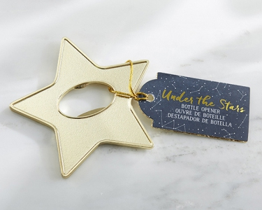 WBO2036 Gold Star Bottle Opener Bomboniere - As Low As RM6.09/Pc