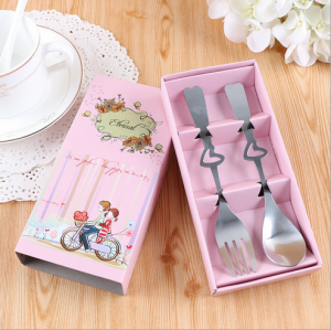 "WFS2040 ""Eternal"" Couple Fork & Spoon Teatime Set - As Low As RM 2.20 / Set"