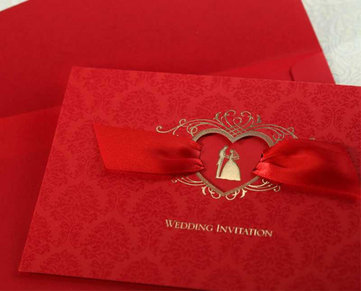 BWI1041  Bhands Korea Invitation Cards - As Low As RM3.50/PC