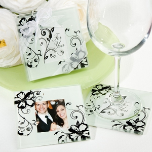 WCOA2090 Floral and Fantastic Photo Coasters (2Pcs)- As low as RM2.99 / Set