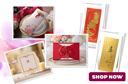 Chinese Invitation Cards