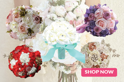 Wedding Artificial Flower Bouquet
