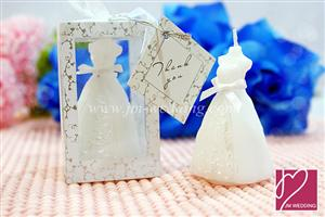 WCH2003 Wedding Gown Candle - As low as RM2.60 / Pc