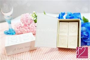 WCH2005 Book of Love Candle Set - As low as RM4.60 / Set