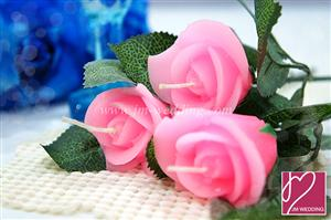 WCH2006 Rose Candle Favor - As Low as RM3.60 /Pc