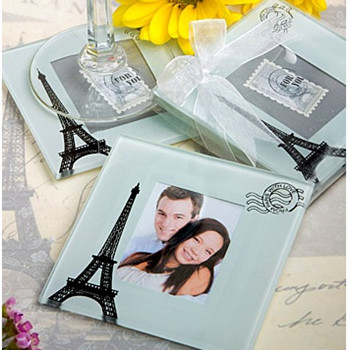 WCOA2018 Eiffel Tower Coasters (2Pcs)  - As Low As RM3.00 /Set