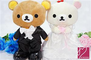 WDOL1007 Rilakuma Wedding Bear /pair 情侣娃娃