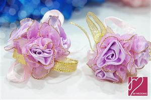 WHF1001 Color Elastic Wrist Corsage - As low as MYR3.90 / Pc